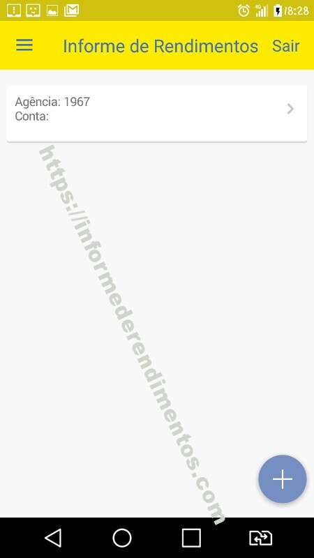 informe rendimentos banco do brasil aplicativo