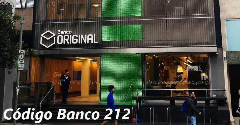 codigo banco original 212