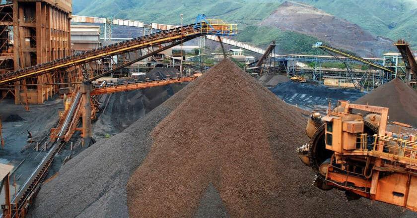 minerio de ferro hoje